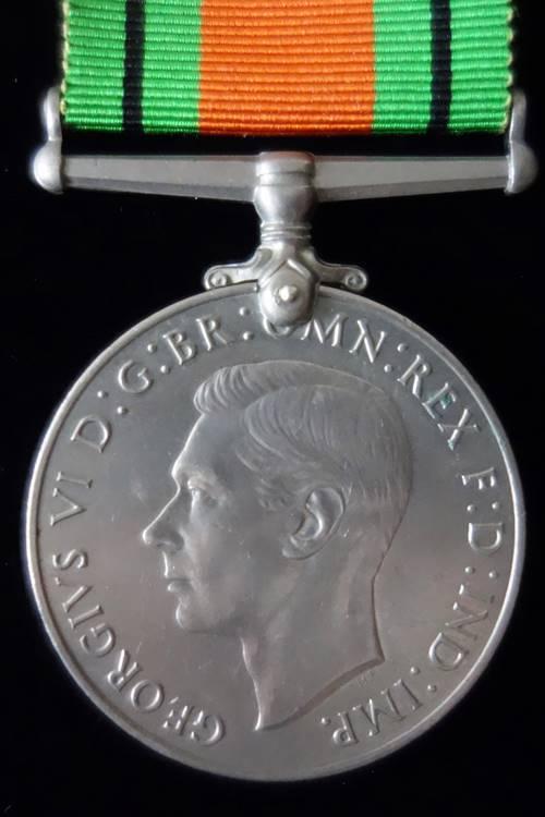 Defence Medal WW2
