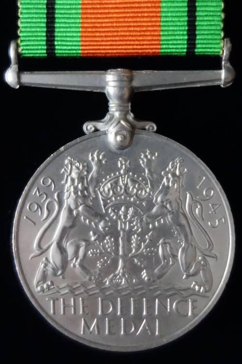 Defence Medal Reverse
