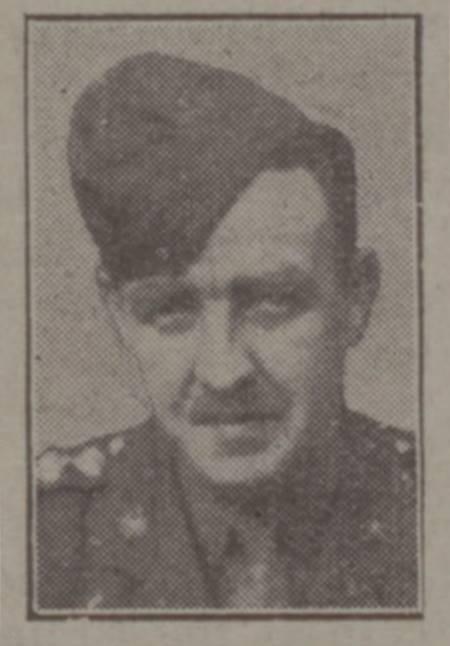 Captain Hugh McCafferty WW2 Casualty List