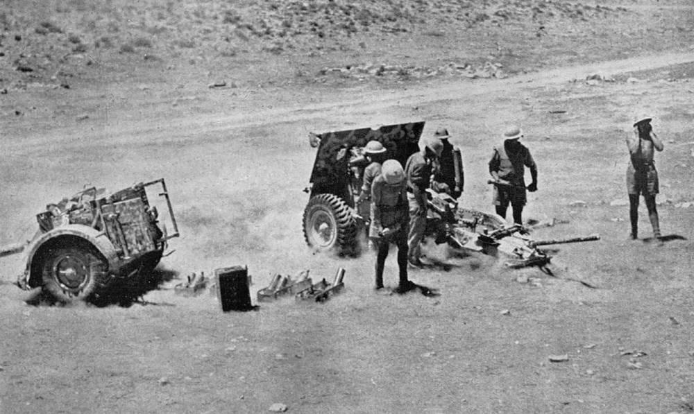 25-pounder Field Regiment Royal Artillery