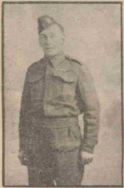 Sapper Arthur Ernest Payton 697th General Construction Company Royal Engineers