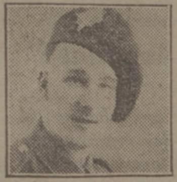 Guardsman James Corbett Irish Guards